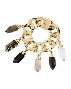 Point Crystal Charm Bracelet - Givenchy
