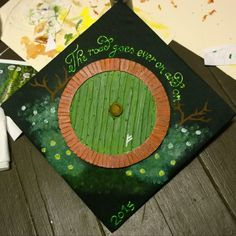 Aaand My graduation cap is perfect. Not to mention the fact that its celebrating four years of hard work finally paying off and with honors too. Graduation Cap Designs, Graduation Cap Decoration, Graduation Diy, Nursing Graduation, Graduation Party Planning, Harry Potter Decor, Cap Decorations, Grad Cap, Hard Work