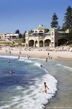 Cottesloe Beach- ahh can not wait to be on this beach again! Cottesloe Beach, Australian Capital Territory, Australian Continent, Perth Western Australia, Largest Countries, Ocean Views, Travel Goals, Homeland, Continents