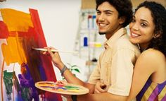 Groupon - Intro to Art or Sneaker-Painting Workshop for Two, or $ 10 for $ 30 Worth of Artwork or Classes at The Riverside Gallery. Groupon deal price: $10.00
