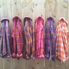 Bridal Party 6 pack small flannels.  Purple Rain.  Bridesmaids gift, rustic…
