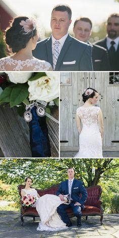 Liza & Pat Real Vermont Wedding Inspiration   Vintage, Rustic Barn Wedding   Vermont Bride Magazine