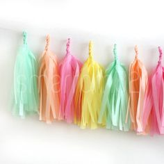 Tissue-Tassels-Paper-Garland-Bunting-Wedding-Party-Xmas-Decoration