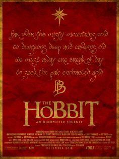 Movie Friday: 'The Hobbit' Alternative Movie Posters #design #graphicdesign #movies #branding