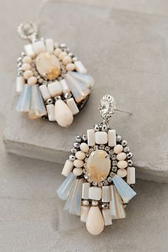 Aren't these the most gorgeous Anthropologie earrings?