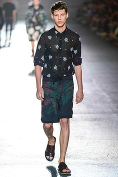 Dries Van Noten Spring 2014 Menswear Collection Slideshow on Style.com