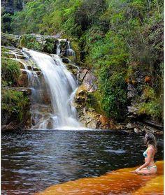 Cachoeira dos Macacos - Ibitipoca (Foto: Karla Gordilho) # Minas Gerais