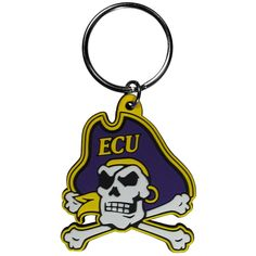 Must have product now available: NCAA East Carolin... Get it here! http://www.757sc.com/products/ncaa-east-carolina-ecu-pirates-flex-rubber-logo-key-chain-ring?utm_campaign=social_autopilot&utm_source=pin&utm_medium=pin