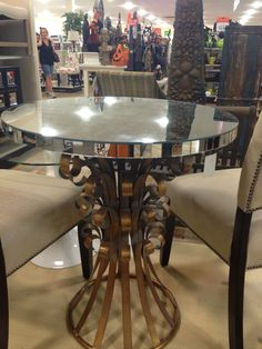 Stunning Hollywood regency style table