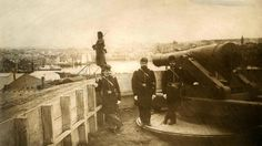 Then: Federal Hill cannons