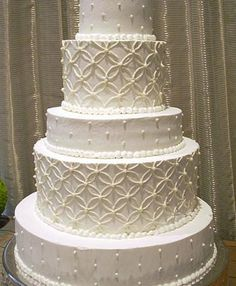 Alternating Patterns - Unusual Wedding Cakes Collection
