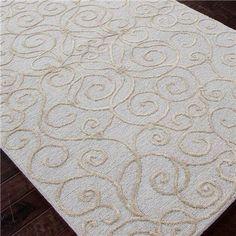 Delightful Modern Damask Wool U0026 Art Silk Rug ...