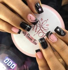 Cute Nail Colors, Cute Nails, Glamour Nails, Simple Nails, Manicure And Pedicure, Nail Designs, Nail Polish, Beauty, Iphone