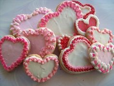 valentine's day cookies - Google Search
