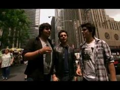 Il Volo - Some impromptu acapella and - A Day In The Life in NYC