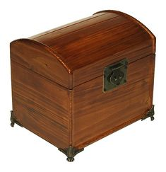 Buy Mountain Woods Valencia Antique Style Recipe Box w/ Legs - Topvintagestyle.com ✓ FREE DELIVERY possible on eligible purchases