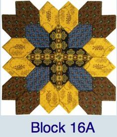 Pieceful Gathering Quilt Shop Block 16A