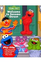 Welcome to Sesame Street: Felt Fun Storybook and Play Scene