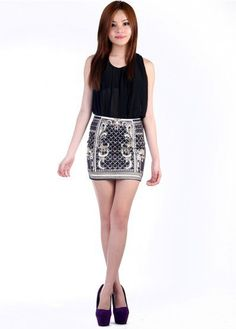 #fleurettos.com           #Skirt                    #Vintage #bandage #skirt #Apparels                  Vintage bandage skirt - Apparels                                              http://www.seapai.com/product.aspx?PID=1163203
