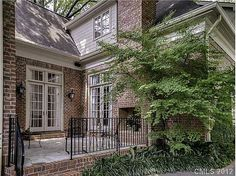 Exceptional curb appeal and located on such a nice street in Myers Park. 12 foot ceilings down, wide plank pine flooring, master on main level , 3 bedrooms 3 1/2 baths, playroom, office or could add closet for 4th bedroom, walk -in storage, 2 car detached garage. Garden is beautifully maintained. #zillow