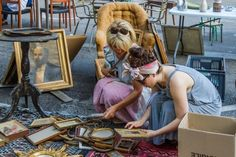 Remembering our trip to the French flea markets