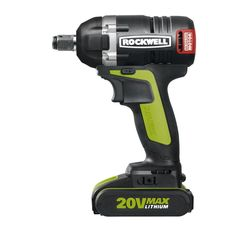 Rockwell 20-Volt Lithium-Ion 1/2 in. Brushless Impact Wrench
