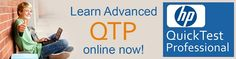 QA online training provides QTP online training for trainees those are choosing to learn QTP and make their career potential in testing. We, QA Online Training institute offer a wide range of courses through online, in that we do take an active part in QTP online training.  QTP Online training classes are being conducted by certified and senior industry experience professional trainers. Our trainers are well trained and experienced in providing QTP training.