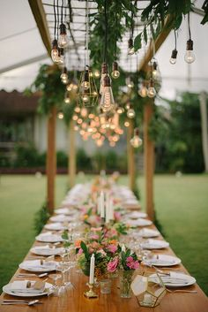 Long reception table #wedding #weddingday #aislesociety