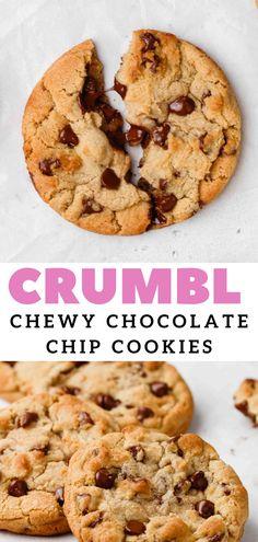 Milk Chocolate Chip Cookies, Chocolate Desserts, Chocolate Chips, Chef Recipes, Cookie Recipes, Dessert Recipes, My Favorite Food, Favorite Recipes, Good Food