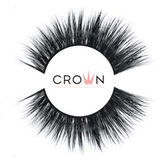 -BELLE- Classic Mink Lashes. These Fake Lashes are handmade and cruelty free! Crown Lashes are ultra luxurious, lightweight and with their matte fibers, they are super natural looking! Their ultra thin seamless band will make the process of your fake lashes application easier then ever! Our latex-free Crown glue provides a precise and mess free application. 24.99$ can Fake Lashes, Super Natural, Latex Free, Mink, Makeup Yourself, Cruelty Free, Makeup Looks, Crown, Classic