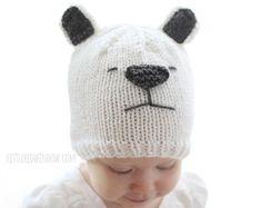 Gatito gato bebé sombrero TEJIDO PATRÓN patrón por LittleRedWindow