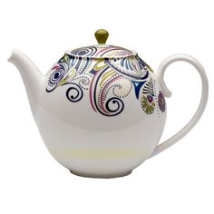 Just Love it when I find a 'perfect' item! This Cosmic Teapot is Cute! I really, really LOVE this adorable design. Creative, whimsy, clean, so much perfection!