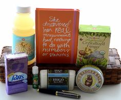 Chemo Sensitive Cancer Gift Basket-ya never know when someone might need this
