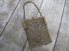 Antique Beaded Purse - Metro Bag Works $47