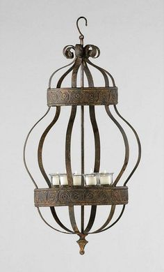 "Saint James Candle Chandelier from Cyan Design 17""W x 32""H"