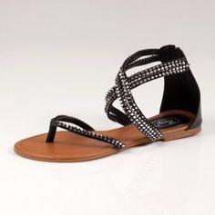 Black Sandals @Corri Garza Milsap