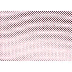 Wit met rode stipjes - Modestofjes.be - Online stoffenwinkel