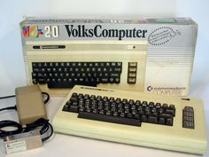 My first computer - Commodore VC-20. They couldn't call it VIC, which sounds like the German word for f*ck.