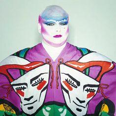 Divine, portrait by Robyn Beech, makeup Richard Sharah, 1980.