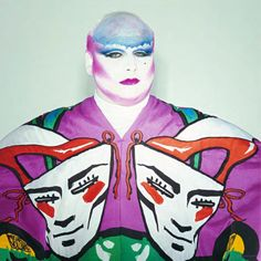 Divine, portrait by Robyn Beech, makeup Richard Sharah, 1980.