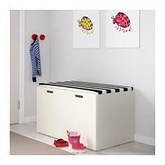 IKEA - STUVA, Banco con cajón, blanco/verde, , Almacenaje bajo para que tus…