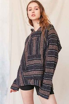 Women's New Arrivals Rock Style Clothing, Women's Clothing, Baja Hoodie, Urban Renewal, Hoodies, Sweatshirts, Get The Look, Urban Outfitters, Pullover