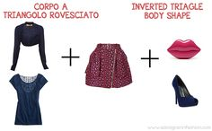 What to wear for a baptism. Inverted triangle shaped body