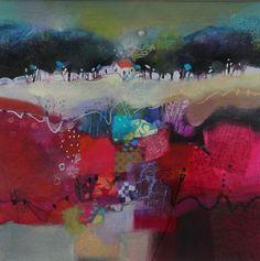 Tolquhon Gallery - Emma Davis RSW Patchwork Field