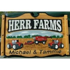 The wooden signs that easily make your place go noticed. http://cottonwoodcovecrafts.com/categories/2ft-x-3ft-custom-yard-farm-business-signs