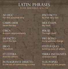 Latin meanings in modern language English Writing Skills, Book Writing Tips, Writing Words, English Vocabulary, Writing Prompts, Pretty Words, Cool Words, Beautiful Latin Words, Unusual Words