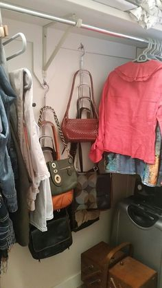 Cable Strap Hack Storage Solution