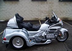 The 2007 Honda Goldwing NAV Comfort for sale is a super clean, comfortable riding motorcycle that runs great. The 2007 Honda Goldwing Comfort Trike Motorcycle, Bike, Goldwing Trike, Super Clean, Fantasy Artwork, Honda, Motorcycles, Wheels, Vans