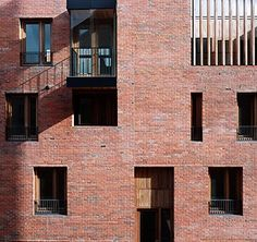 Timberyard Housing by O'Donnell+Tuomey arch