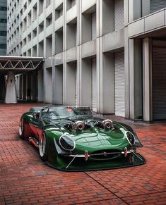 """billionairemouse: """"Jaguar E-Type Twin Turbo V8 """""""